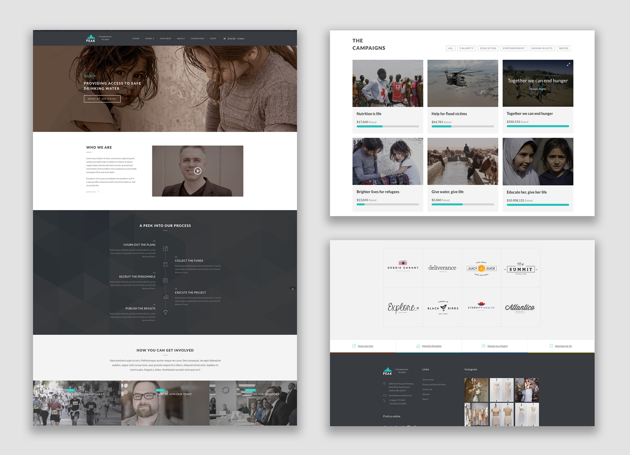 Peak WordPress Theme by Livemesh