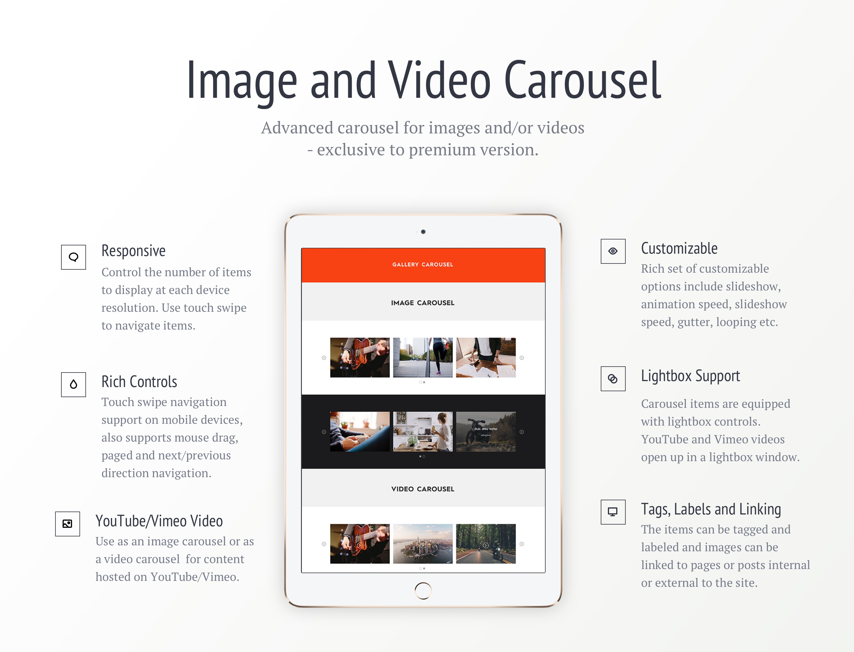 Image Video Carousel