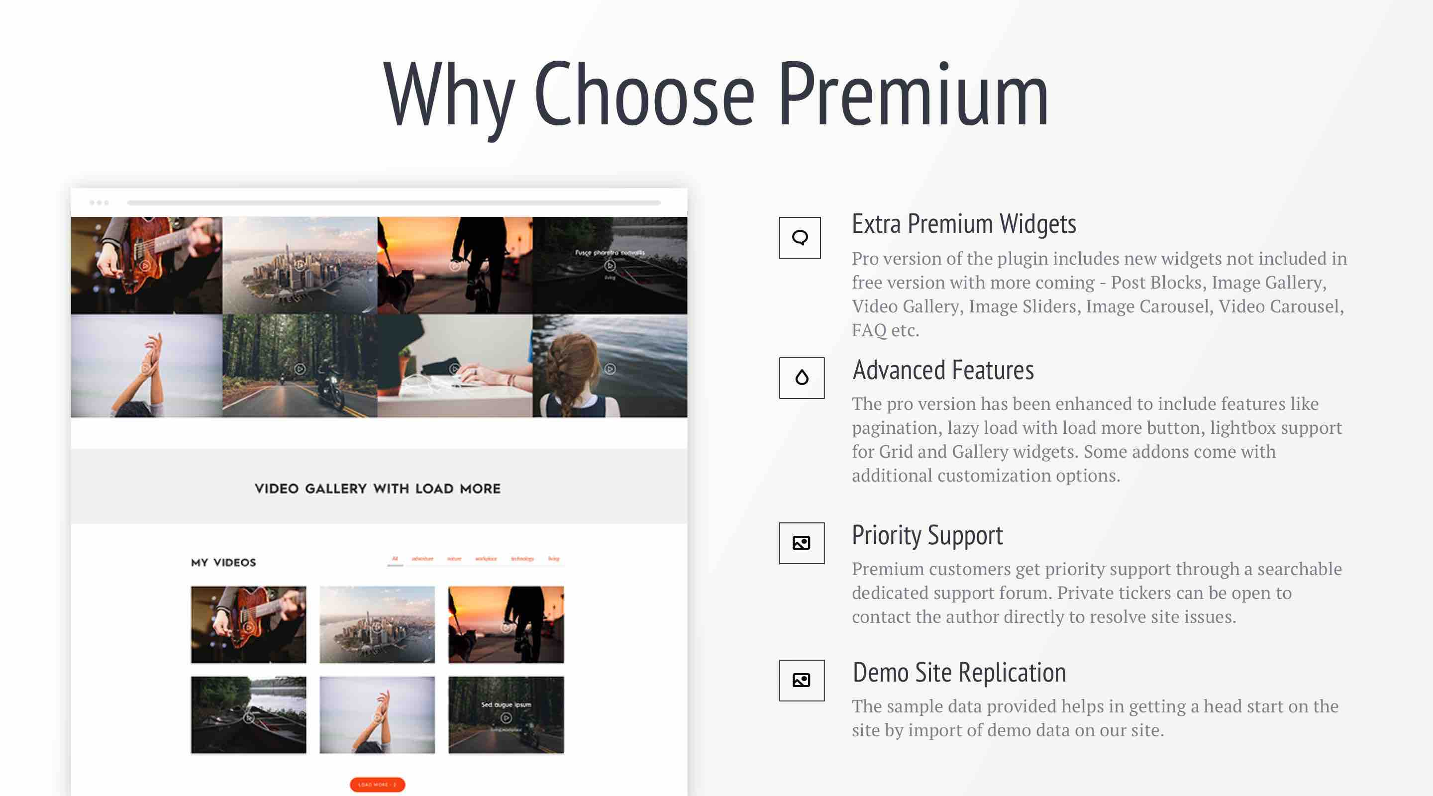 Why Choose Premium